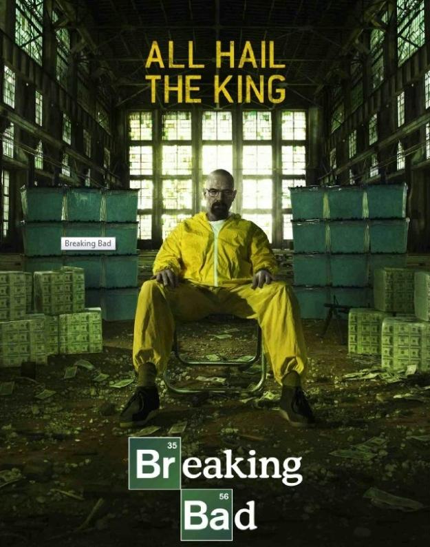 Breaking Bad S5 poster