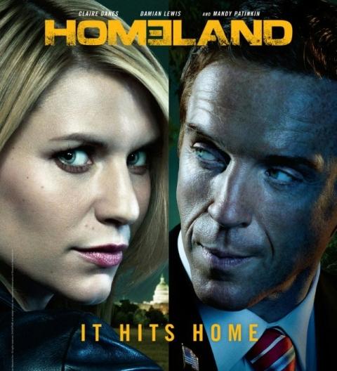 Homeland S2 poster