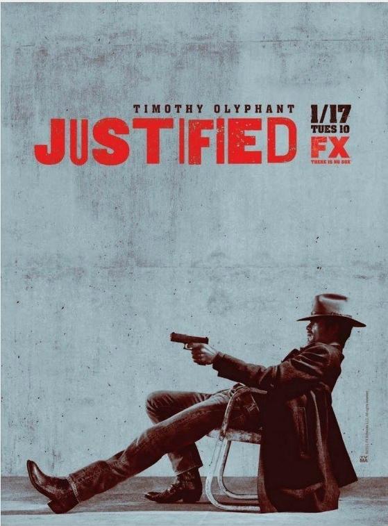Justified Season 3 poster
