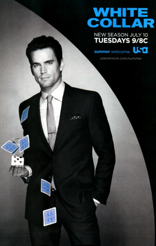 White Collar S4 poster