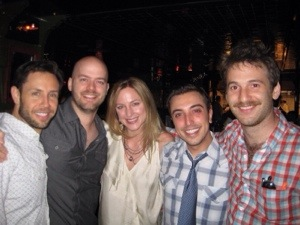 Matt with some of his White Collar writers (c. 2012)
