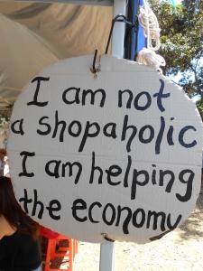 I'm not a shopaholic