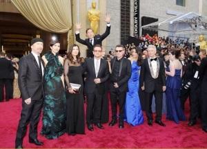 Benedict U2 photobomb
